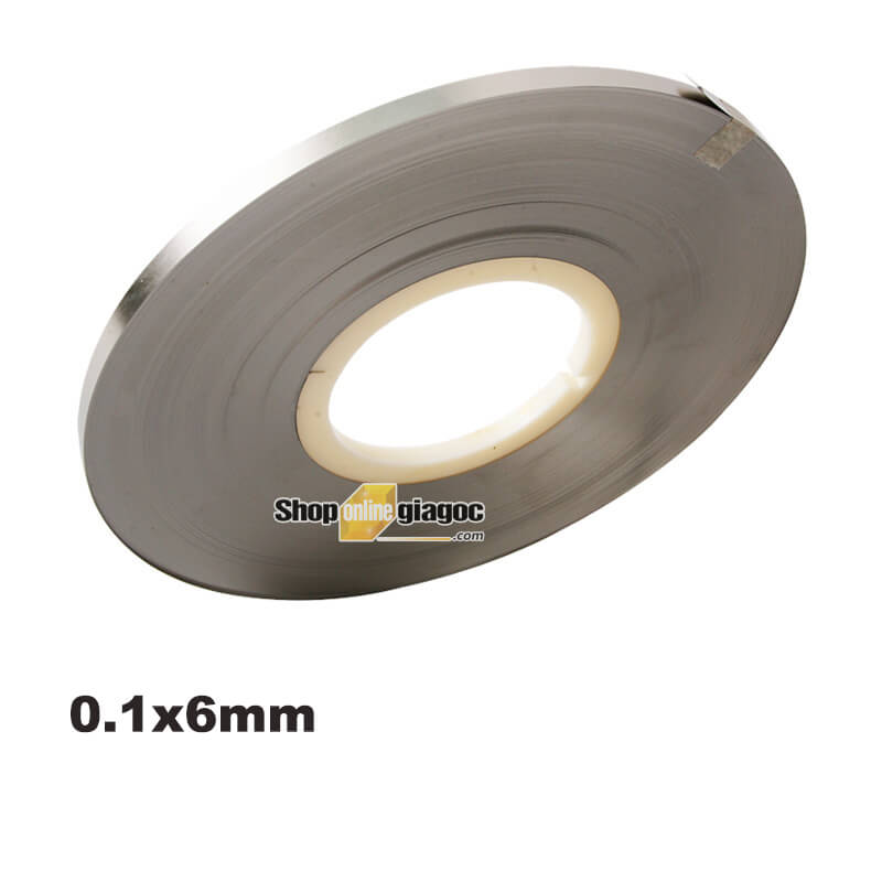 Kẽm Hàn Cell Pin Mạ Niken 0.1 * 6mm 1.5KG