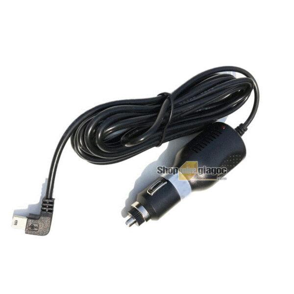 Dây Nguồn Camera Hành Trình Mini USB Cắm Tẩu 5V 3A