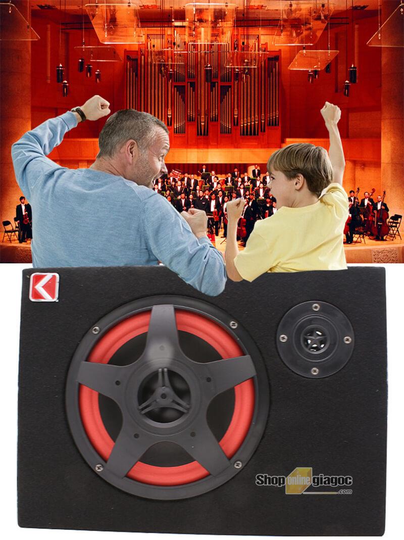Loa Nghe Nhạc Trên Ô Tô Đa Năng KCM8