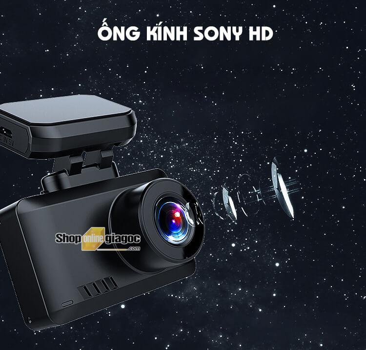 Camera Hành Trình WT8 4K Wifi Có GPS Ống Kính SONY