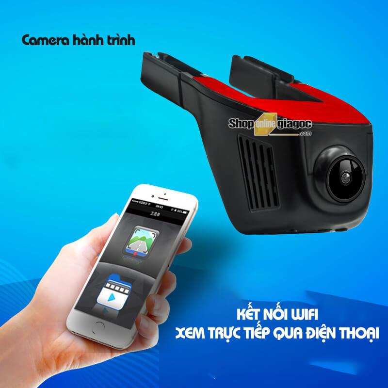 Camera Hành Trình R200 Wifi Kết Nối Điện Thoại