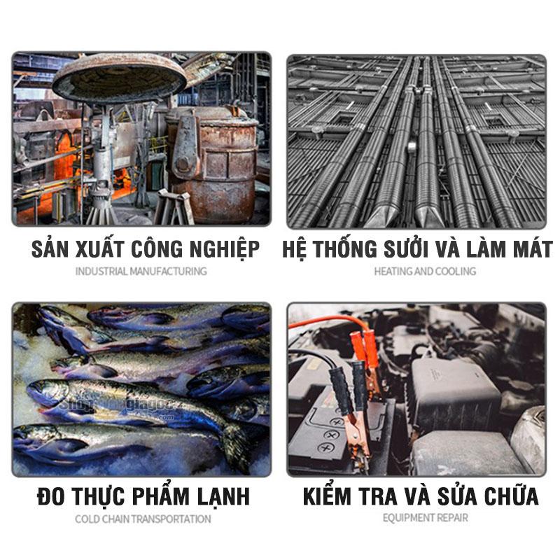 Máy Đo Nhiệt Độ Bằng Tia Hồng Ngoại AR590F