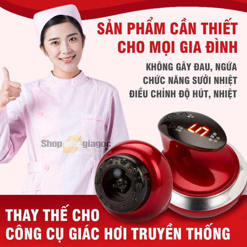 Máy Cạo Gió Giác Hơi, Giảm Mỡ 3 in 1 Q596