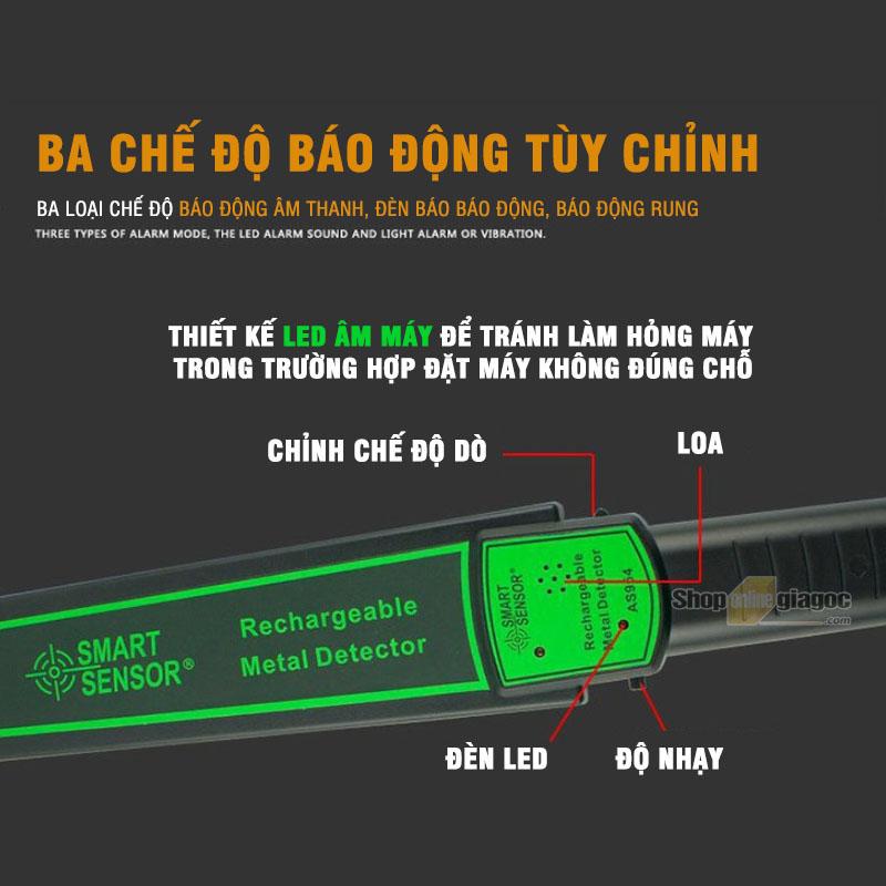 Máy Dò Kim Loại An Ninh Cầm Tay AS954