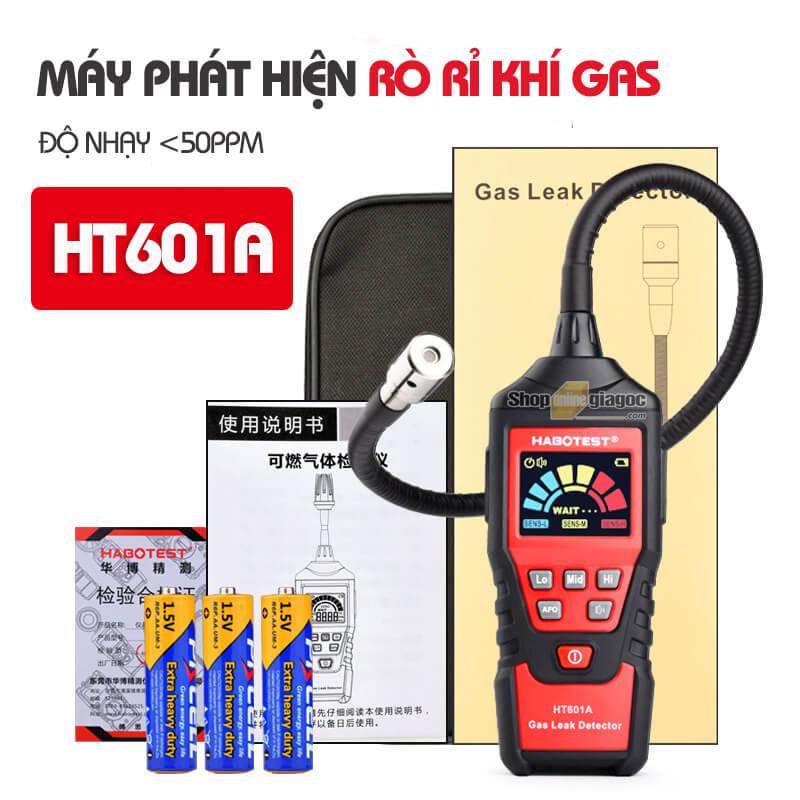 Máy Phát Hiện Rò Rỉ Khí Dễ Cháy HT601/HT60A/HT601B